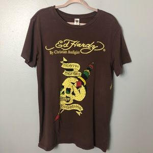 """Ed Hardy by Christian Audigier """"Death Before......"""